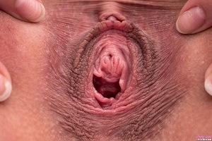 Antonia Sainz pussy spread close up at Pj Girls.
