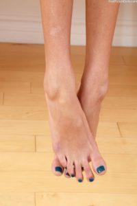 Janice Griffith´s beautiful feet close up.