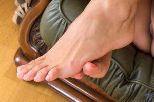 Cira Nerri´s feet close up.